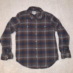 Lucky Brand Men's Plaid Button Down Shirt